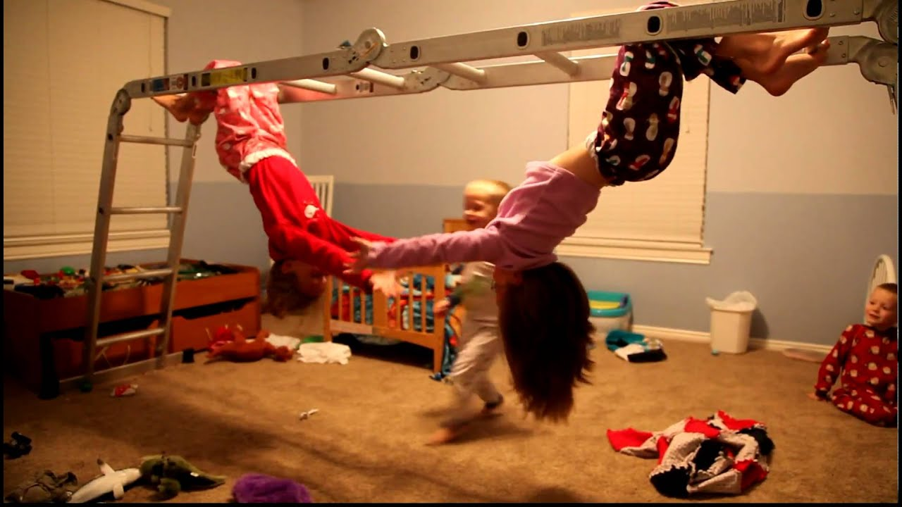Indoor Jungle Gym - YouTube