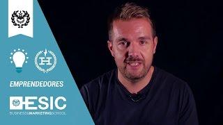 Emprendimiento - David Moreno Co-founder Hawkers