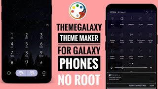 ThemeGalaxy Theme Maker For Galaxy App Overview 2018