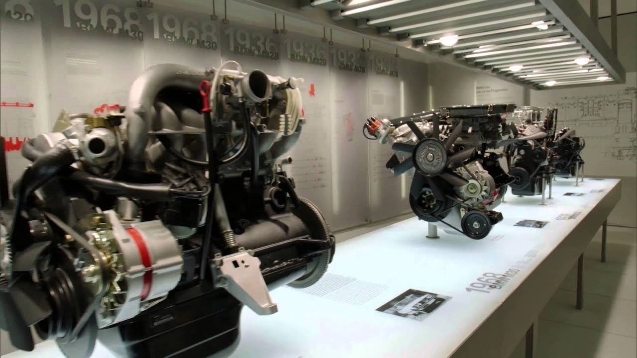 a night at the bmw museum several bmw engines n52 m50. Black Bedroom Furniture Sets. Home Design Ideas