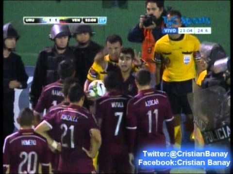 (Relator Enojado) Uruguay 0 Venezuela 1 (Relato Maximo Goñi)  Sudamericano Sub 20 2015 (23/1/2015)
