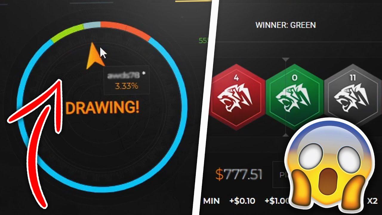 OMG 3% JACKPOT WIN?! - CSGOATSE CSGO Gambling!