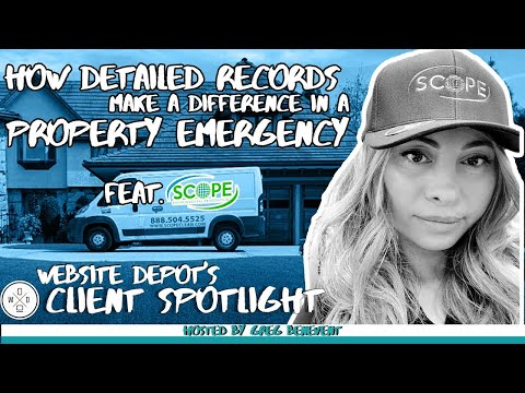 Why Keeping Good Records is Important for Insurance   Website Depot Podcast w/ Scope Environmental