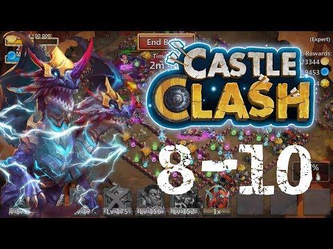 Castle Clash: Demogorgon Solo Expert Dungeon 8-10!