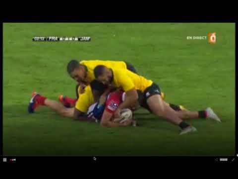 France vs Jamaica Rugby League 2017 International