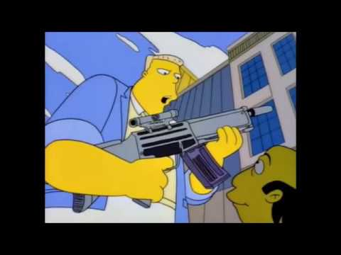 The Simpsons - Wolfcastle Confronts Jay Sherman