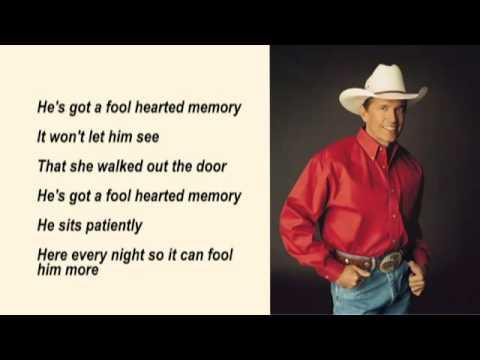George Strait   Fool Hearted Memory Lyrics mp3