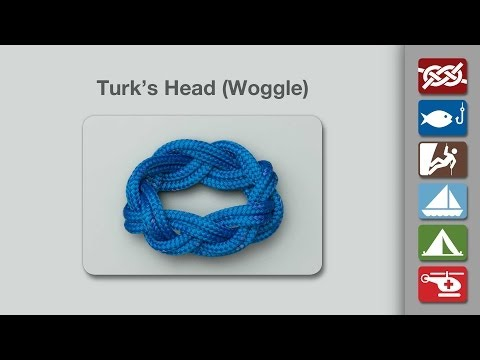 How to Tie a Turk's Head or Woggle
