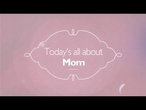 Happy Mother's Day Video Greeting Card Template | Wideo.co