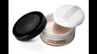 Make Up For Ever Super Matte Loose Powder REVIEW!