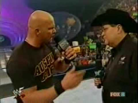 Stone Cold Interview By Jim Ross [Part 1] [2001]