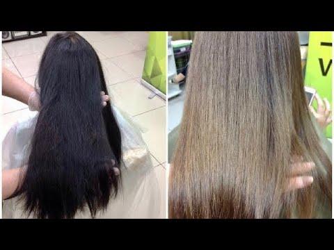 От черных волос к русым || Декапирование // How To Remove Permanent Hair Dye
