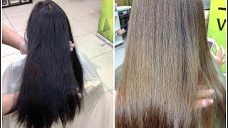 видео Колорирование на русые волосы как альтернатива окрашиванию