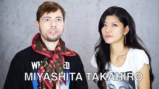 HOW TO PRONOUNCE MIYASHITA TAKAHIRO CORRECTLY with KATO HAZUKI Chec...