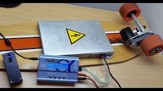 Электро-лонгборд. Финальная сборка 2ч. / DIY Electric Longboard