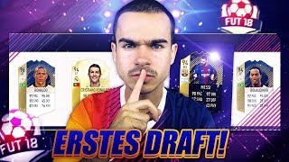 FIFA 18 : LIONEL MESSI INFORM FUT DRAFT !!
