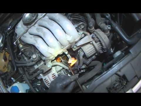 VW A4: 2.0L Thermostat replacement (A-Z) Part 1