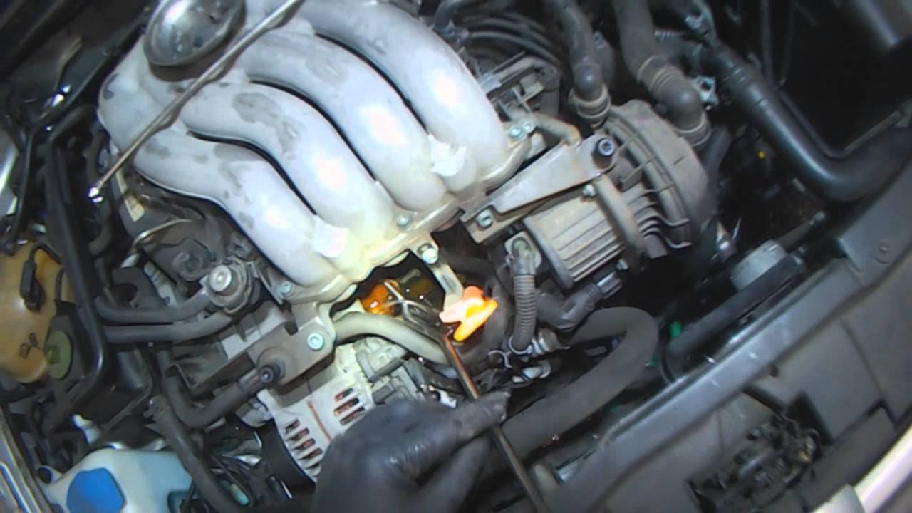 vw a4 2 0l thermostat replacement a z part 1 2010 vw jetta thermostat location 2010 vw jetta thermostat diagram [ 1280 x 720 Pixel ]