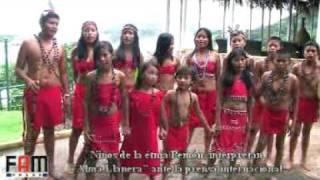 """FITVEN 2011 Niños """"Pemones"""" interpretan """"Alma Llanera"""" en su lengua vernacular"""