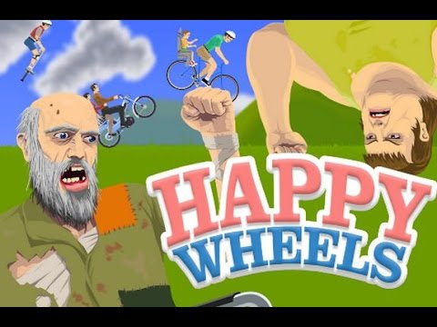 Happy Wheels Unblocked At School And Every Where - YouTube