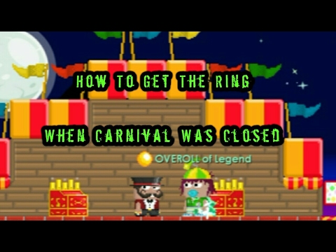 Growtopia | How To Get The Ring When Carnival Was Closed