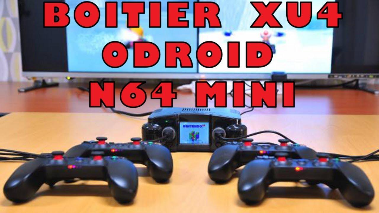 UNBOXING BOITIER N64 MINI ODROID XU4 by MikOzzZ