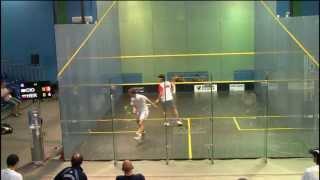 World Squash Junior Championships 2013- Argentina Vs Colombia// Cioffi vs Herrera Gonzalez