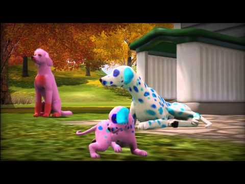 sims 3 pets animaux and cie game trailer ps3 x360 youtube. Black Bedroom Furniture Sets. Home Design Ideas