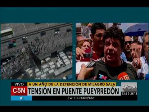 C5N - Sociedad: manifestación a un año de detención de Milagro Sala