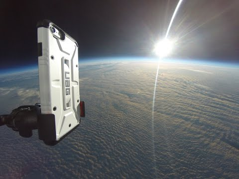 iPhone 6 Gets Sent Into Space by Urban Armor Gear