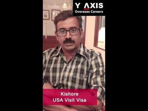 Kishore  USA tourist visa  Aarti