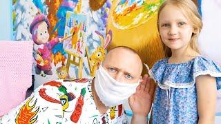 Ястася и папа - лучшие серии про правила поведения для детей
