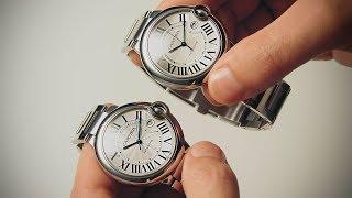 видео Часы Cartier
