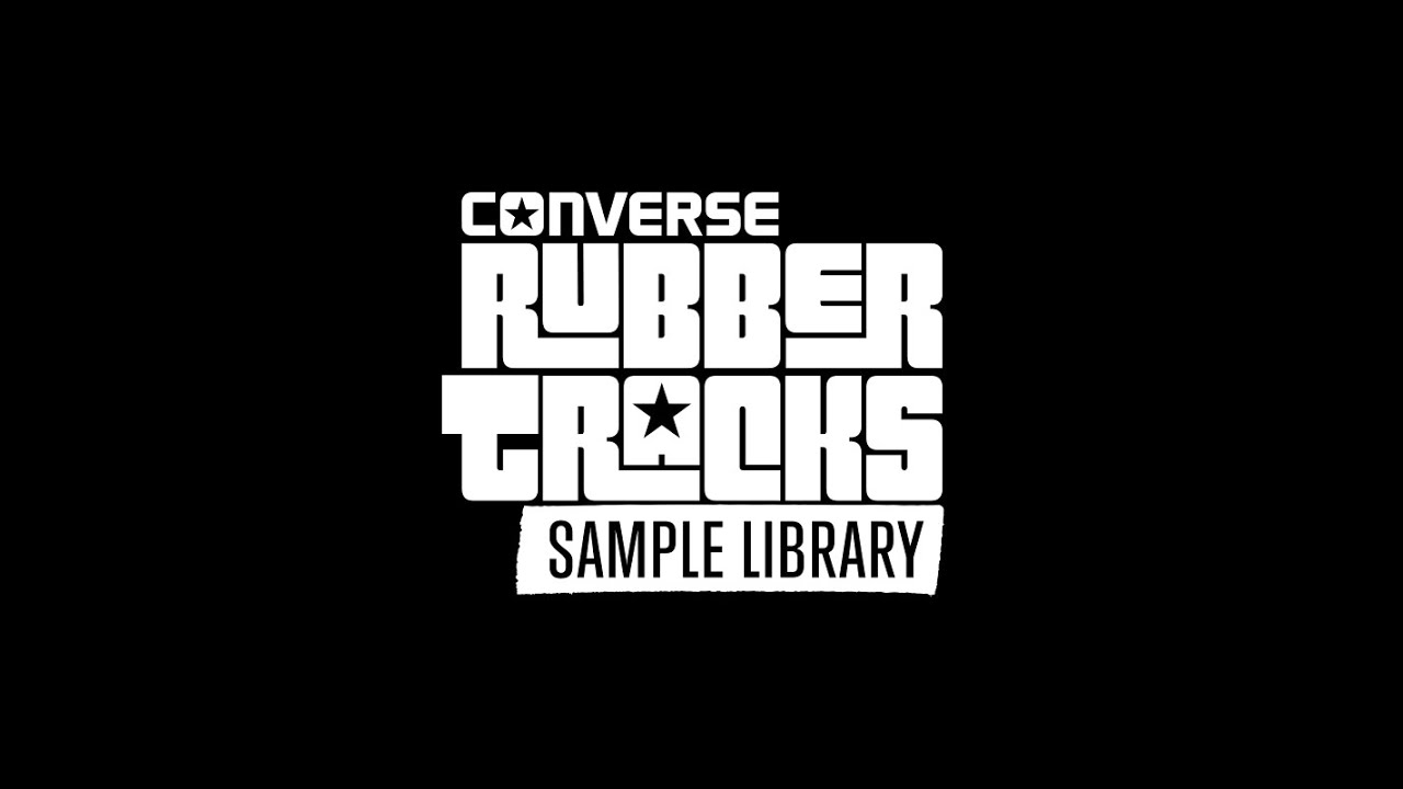 Converse Rubber Tracks Sample Library - YouTube