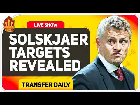 Solskjaer's 4-Man Centre Back Transfer Shortlist! Man Utd Transfer News