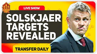 Solskjaer's 4-Man Centre Back Transfer Shortlist! Man Utd Transfer News