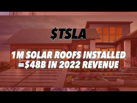 If Tesla Sells 1M Solar Roofs In 2022