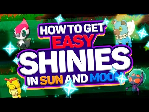 NEW SHINY METHOD IN POKEMON SUN AND MOON! How to Get Shiny Pokemon in Pokemon Sun and Moon!