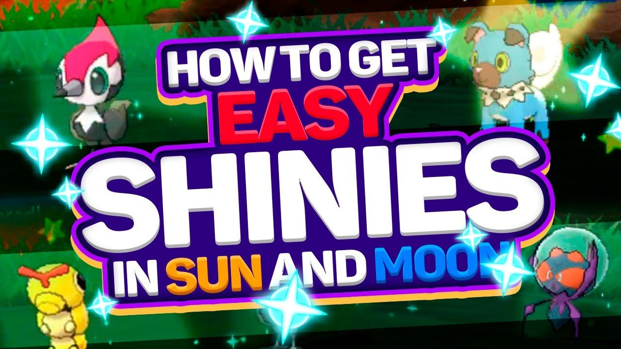Shiny Pokemon Qr Codes Sun And Moon