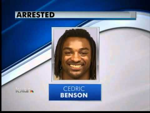 Cedric Benson released from jail, again - 5 pm News