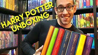 HARRY POTTER UNBOXING: Bloomsbury Slipcase Gift Editions!!!
