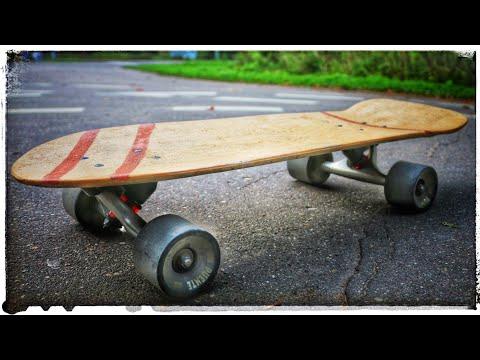 🛹 Как сделать скейт с декой из стеклопластика (круизер)