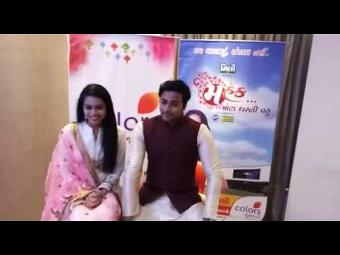 Wishes from #mahekmotagharnivahu Gujarati serial star cast to Yaadein Foundation