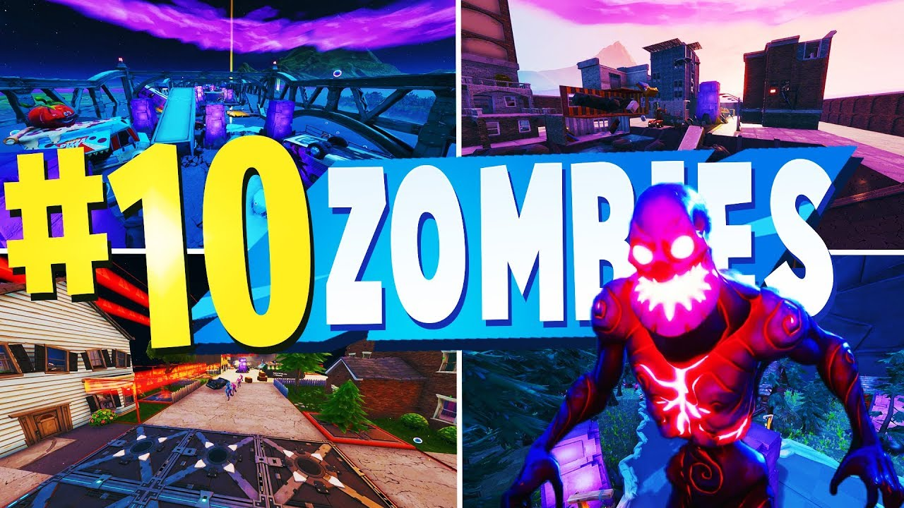 Top 10 Best Zombie Creative Maps In Fortnite Fortnite Zombie Map Codes