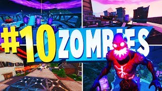 TOP 10 BESTE ZOMBIE kreative Karten in Fortnite | Fortnite Zombie Karte CODES