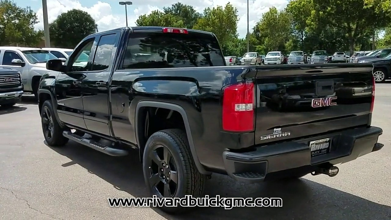 new 2018 gmc sierra 1500 2wd sxl elevation edition double. Black Bedroom Furniture Sets. Home Design Ideas