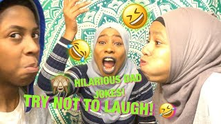 TRY NOT TO LAUGH CHALLENGE | DAD JOKES EDITION!!😂🙈