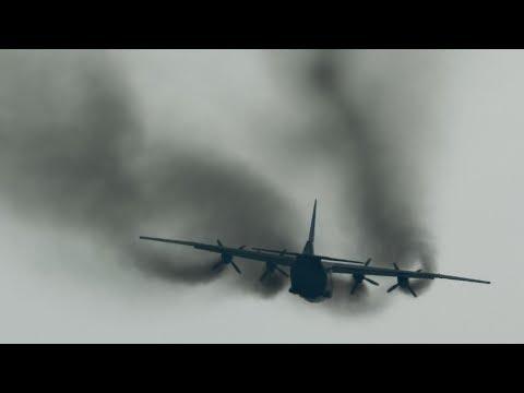 Antonov An-12: Smoking the Vortex Core