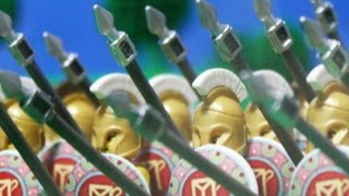 279 B.C. Lego Battle of Asculum, Greek Pyrrhic Victory over Rome thumbnail