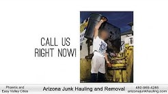 arizona junk removal and hauling 480-969-4285